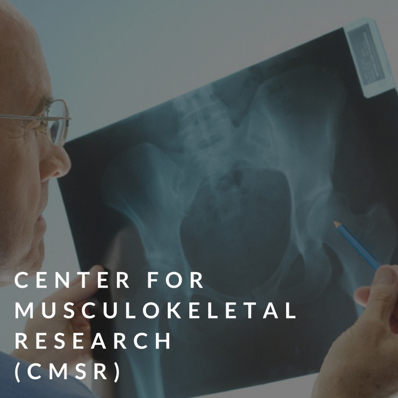 center for musculoskeletal research (cmsr)