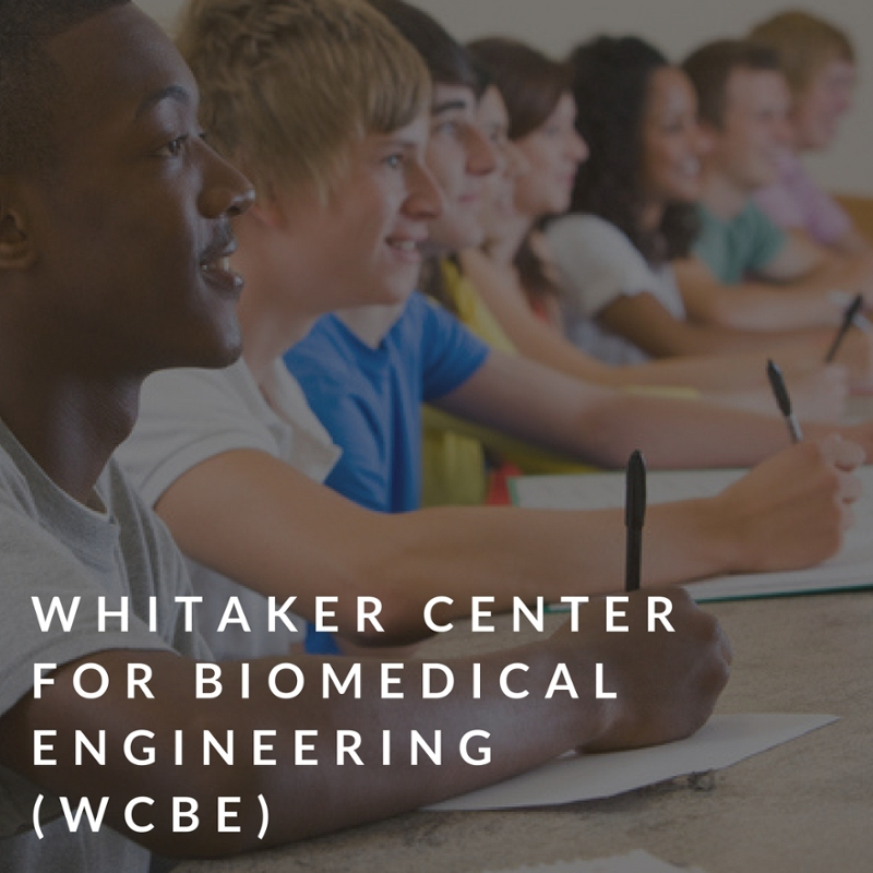 Whitaker center for biomedical engineering (WCBE)