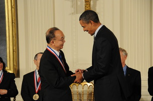 National Medal of Science with Obama